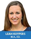 Leah Kuypers, OTR/L, M.A.Ed