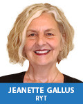 Jeanette Gallus, RYT, MSE, MA, LPC