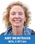 Amy Weintraub, MFA, E-RYT 500